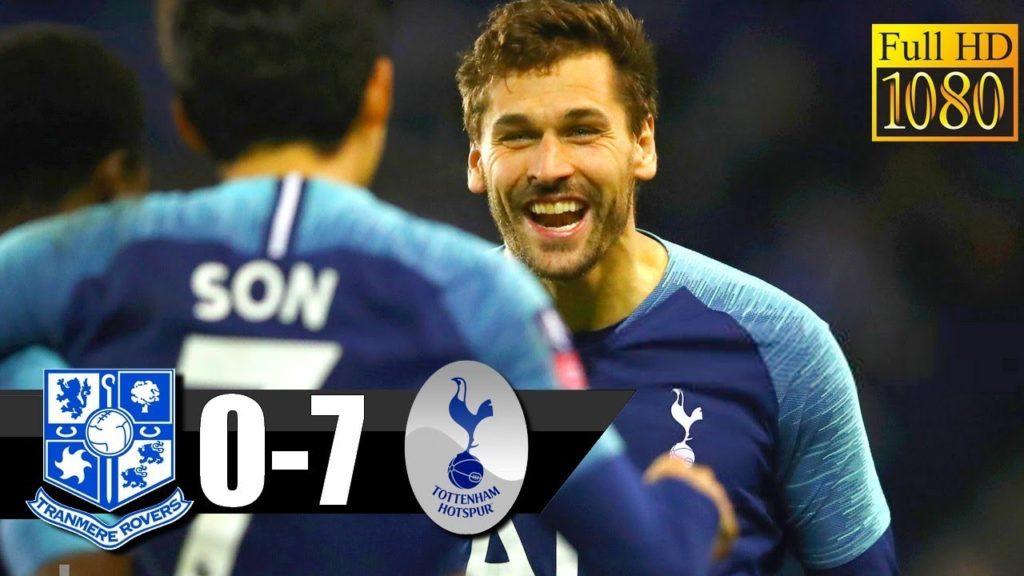 Tranmere Rovers Vs Tottenham 0-7 All Goal highlights Hd