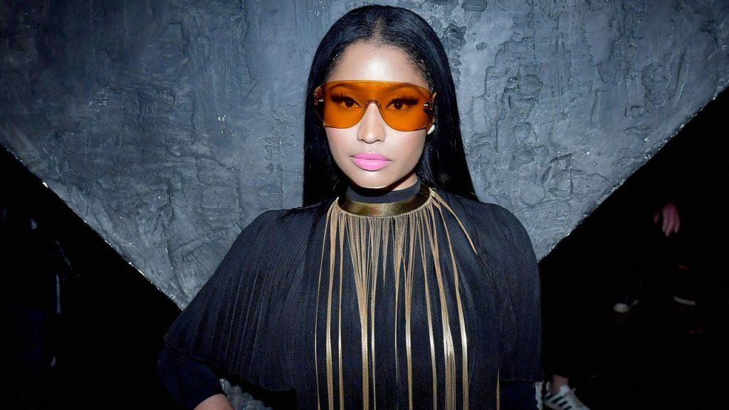 Nicki Minaj Dominates Her Partner In Threatening Movie Picture Re-Enactment