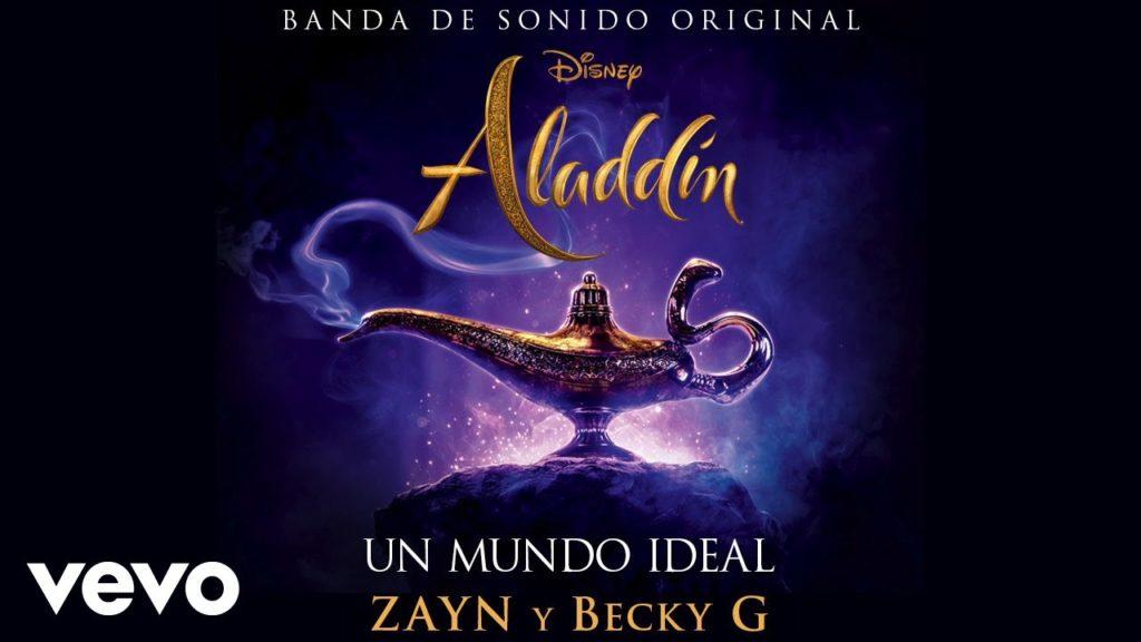 """ZAYN, Becky G – Un mundo ideal (De """"Aladdin"""") (Audio)"""