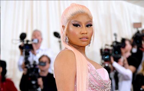 Nicki Minaj is Pretty in Pink Gown at Met Gala 2019