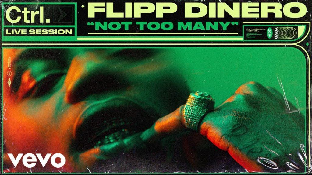 "Flipp Dinero – ""Not Too Many"" Live Session (Vidoe)"