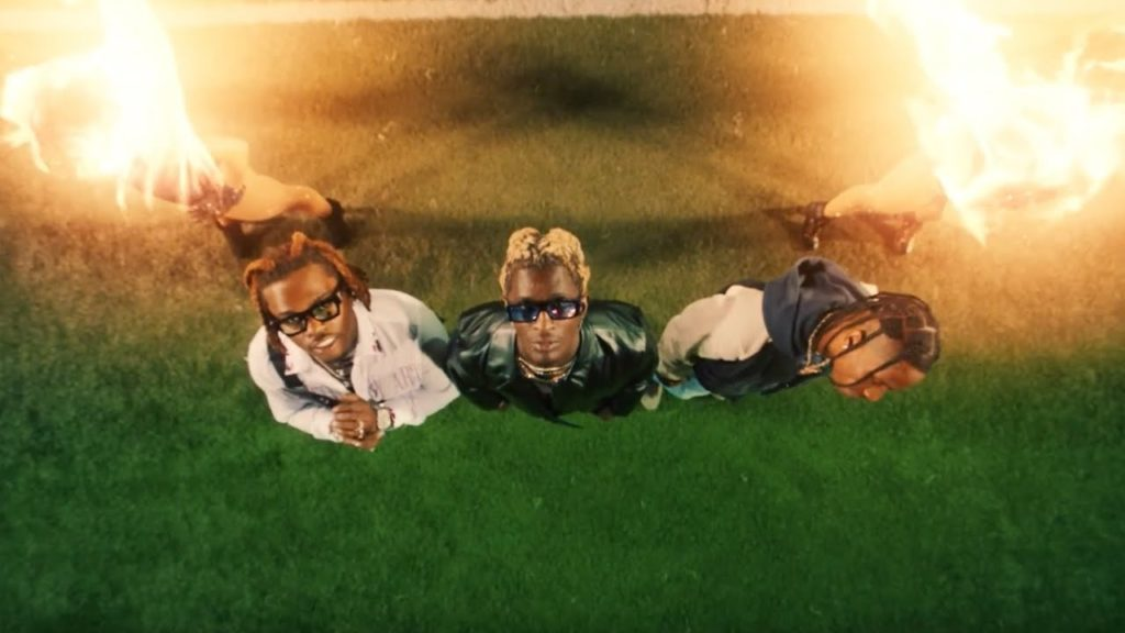 Young Thug – Hot ft. Gunna & Travis Scott (Video)