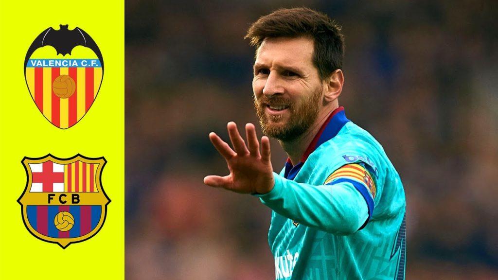Valencia vs Barcelona 2-0 Highlights Goals (Video)
